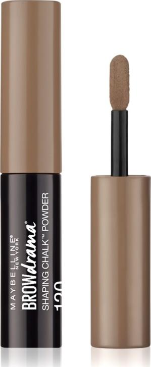 Maybelline Brow Drama Shaping Chalk Powder 120 Medium Brown
