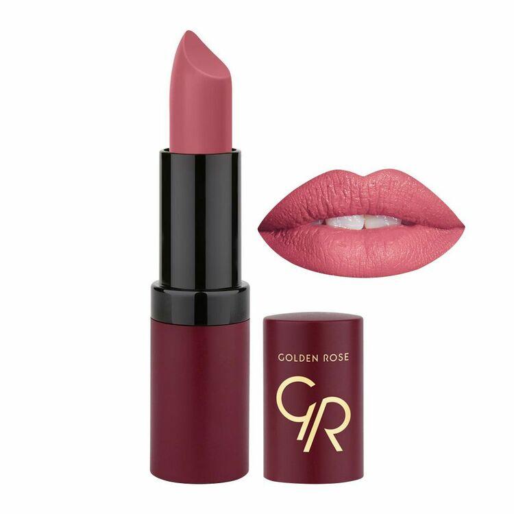 Golden Rose Velvet Matte Lipstick - 12