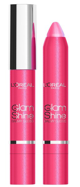 L'Oreal Glam Shine Balmy Lip Gloss - 915 De for guava