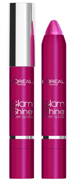 L'Oreal Glam Shine Balmy Lip Gloss - 913 Darf the dragon fruit
