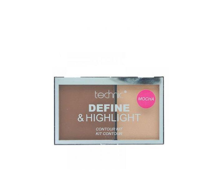 Contour Kit - define & highlight - Mocha