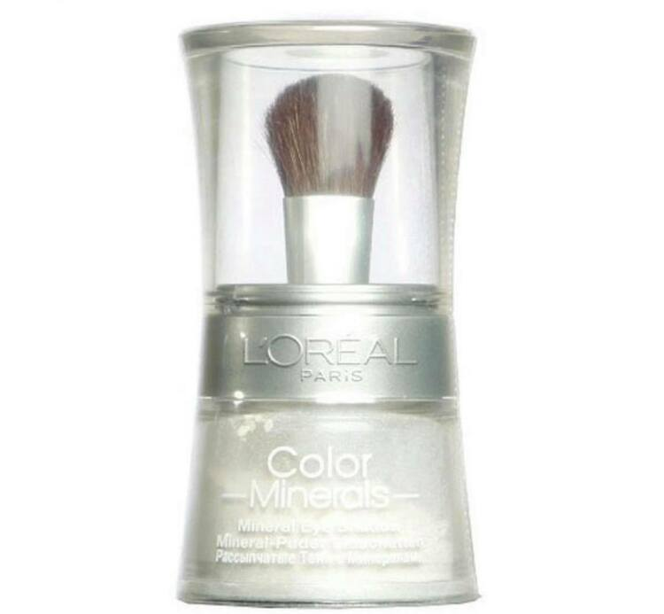 L'Oreal Color Minerale Eyeshadow Loose Powder - 01 Stary White