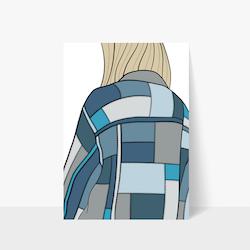 Denim Jacket Print