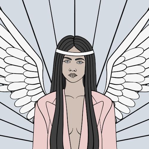 Wings Print A3