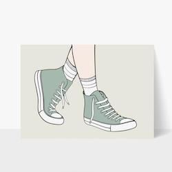 Sneakers Print