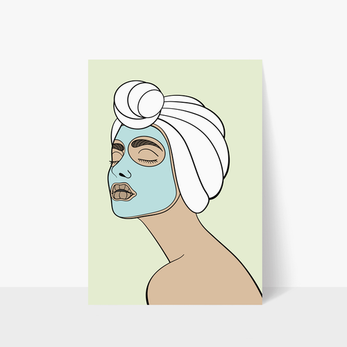 Face Mask Print A3