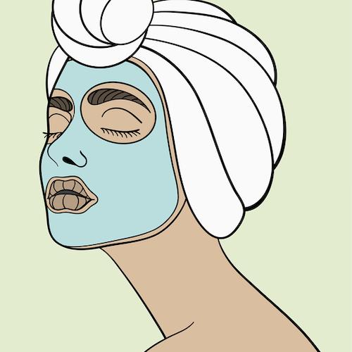 Face Mask Print