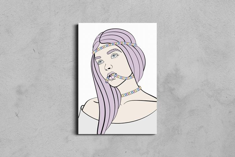 Candy Rush Print