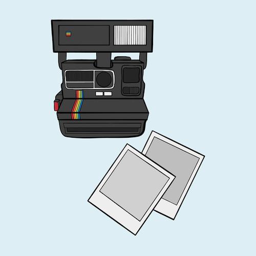 Polaroid Print A3