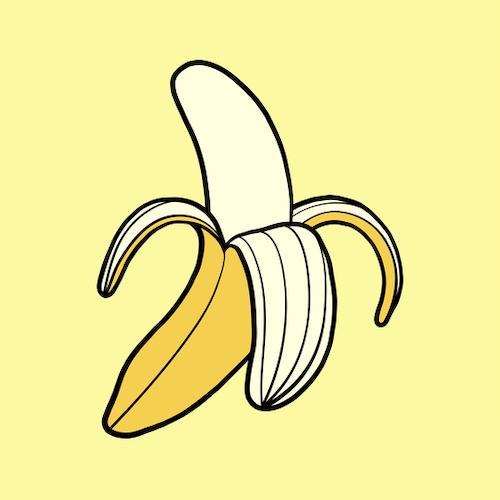 Banana Print A3