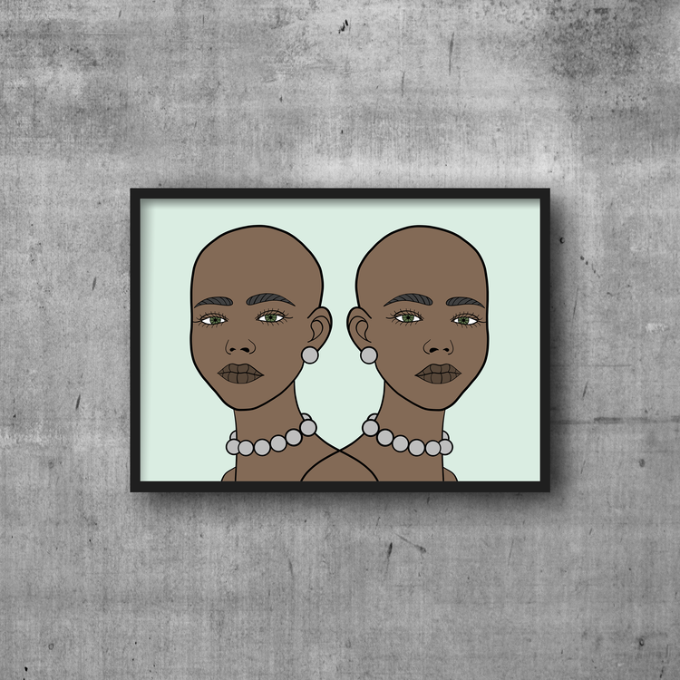 Twins Print