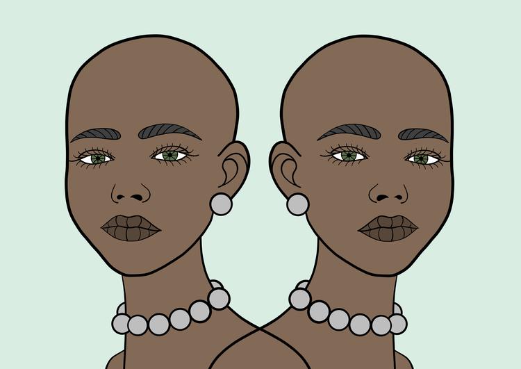 Twins Print A3/A1