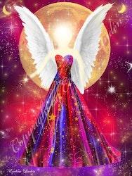 Canvas tavla Livskraftens Ängel från Änglar i mitt hjärta.