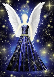 Canvas tavla Stjärnstofts Ängeln från Änglar i mitt hjärta.