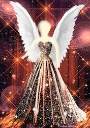 Canvas tavla Transformationens Ängel från Änglar i mitt hjärta