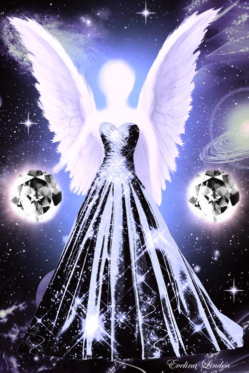 Kristall ljus Änglar / Månadsänglarna från Änglarna i mitt hjärta