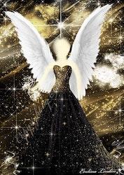 Canvas tavla Mirakel Ängeln från Änglar i mitt hjärta