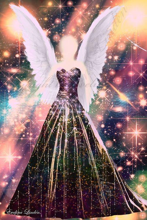 Canvas tavla Frekvens Änglarna från Änglar i mitt hjärta.