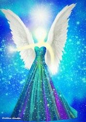 Canvas tavla Harmoni Ängeln från Änglar i mitt hjärta.