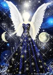 Canvas tavla Månljus Ängeln från Änglar i mitt hjärta.