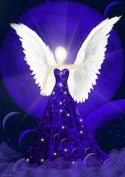 Canvas tavla Drömmarnas Ängel från Änglar i mitt hjärta.