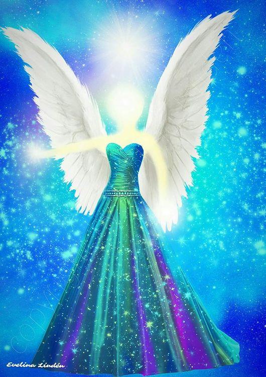 Harmoni Ängeln från Änglarna i mitt hjärta.