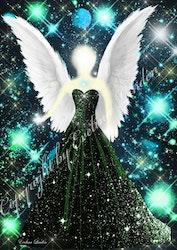 Kosmiska ljus Ängeln från Änglar i mitt hjärta.