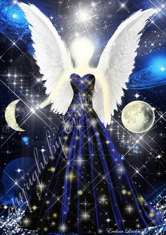 Månljus Ängeln från Änglar i mitt hjärta.