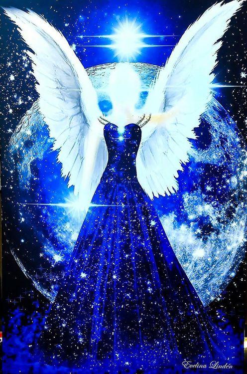 Stjärn ljusÄngeln från Änglar i mitt hjärta.