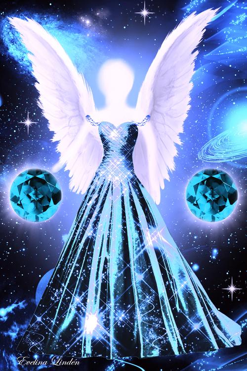 Kristall ljus Änglar  från Änglar i mitt hjärta
