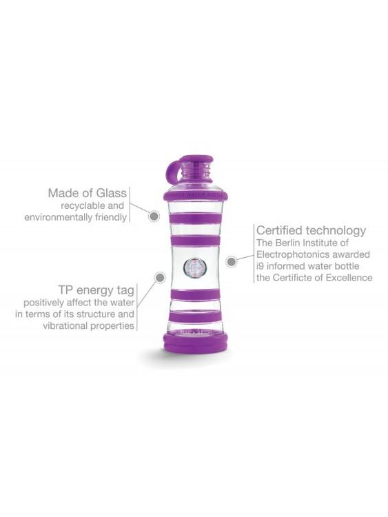 i9 Glasflaska Violett - Wisdom
