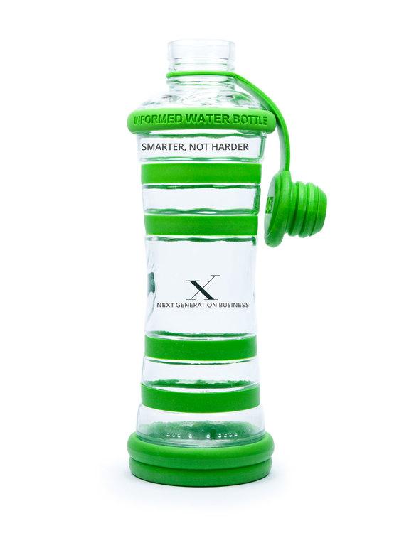 Glasflaska Grön - Next Generation Business