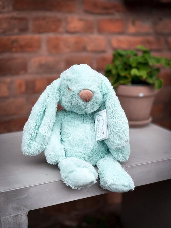 Kanin grön, 37 cm - Teddy Kompaniet