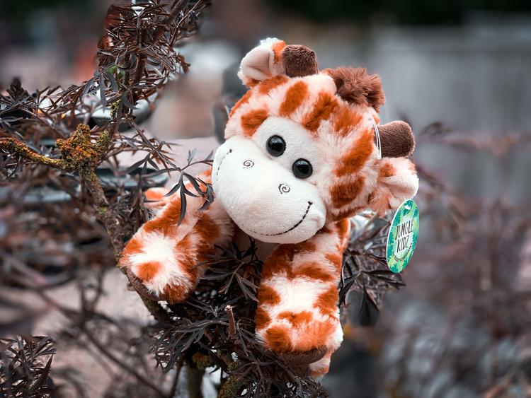 Giraff - 21 cm - Teddy Kompaniet