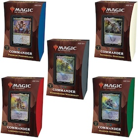 Magic The Gathering: Strixhaven Commander Deck Bundle Complete Set (5 decks)
