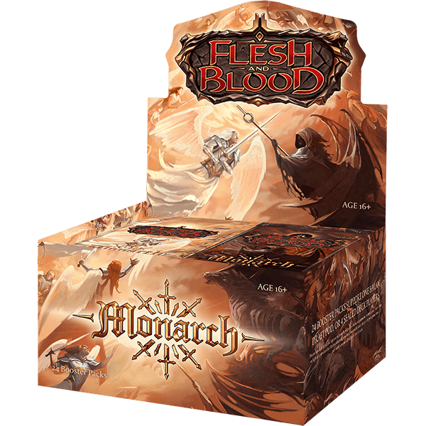 Flesh and Blood TCG: Monarch Unlimited Booster Display (24)