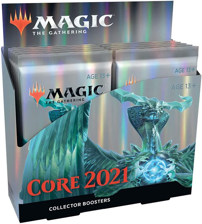 Magic The Gathering Core Set 2021 Collectors Edition (12 boosters)