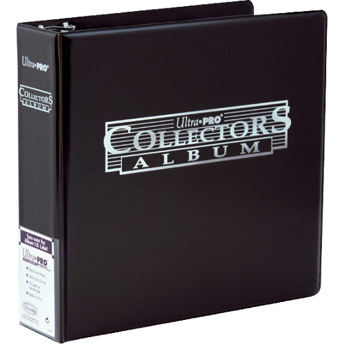 Ultra Pro Pärm - Collectors Card Album Binder - Black