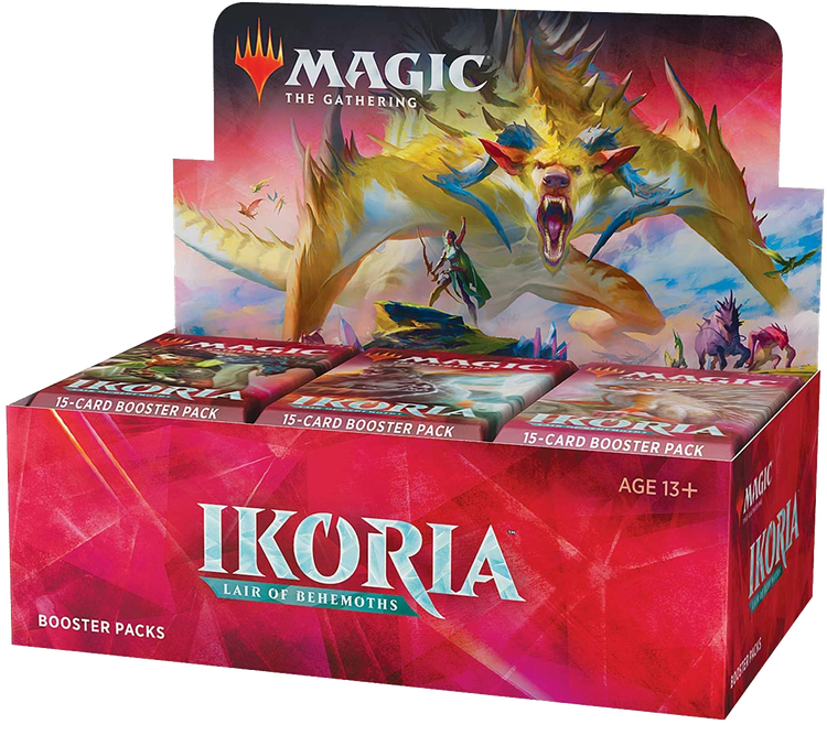 Magic the Gathering: Ikoria Lair of Behemoths Display (36 boosters)