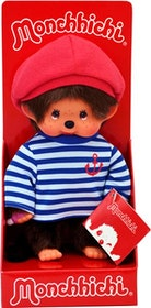 Monchhichi Sailor Beret Boarder Boy 20 cm