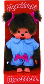 Monchhichi Denim Dungarees Girls 20 cm