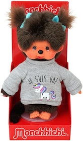 Monchhichi Unicorn Sweater Girl 20 cm