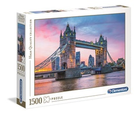 Clementoni High Quality Collection - Tower Bridge Sunset (1500 bitar)