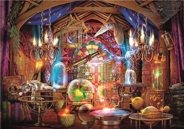 Clementoni High Quality Collection - Wizards Workshop (1500 bitar)