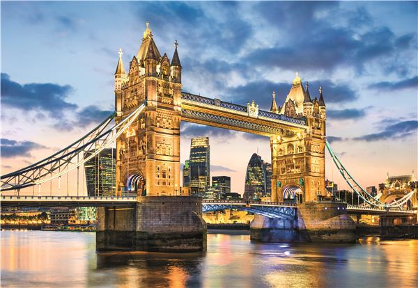 Clementoni High Quality Collection - Tower Bridge at Dusk (2000 bitar)