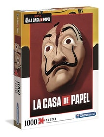 Clementoni High Quality Collection - Casa de Papel Mask (1000 bitar)