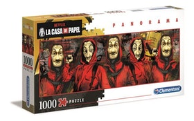 Clementoni High Quality Collection - Panorama La Casa de Papel (1000 bitar)