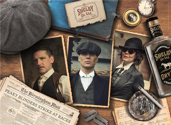 Clementoni High Quality Collection - Peaky Blinder (1000 bitar)