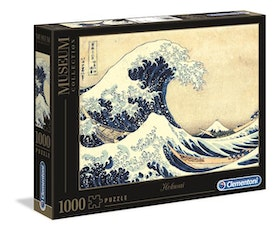 "Clementoni Museum Collection - Hoksau ""The Great Wave"" (1000 bitar)"
