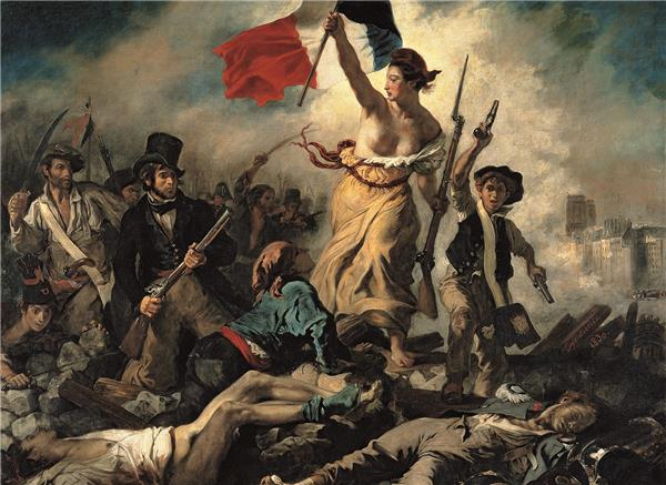 "Clementoni Museum Collection - Delacroix ""Liberty Leading the People"" (1000 bitar)"
